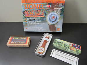 Lionel Train Collectible Watch with Motion & Sound