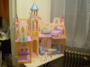 Barbie Princess and the Pauper Doll Palace.
