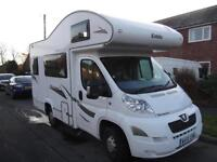 ELDDIS AUTOQUEST 100, COMPACT 4 BERTH, 4 SEAT BELTS, END KITCHEN, LOW MILEAGE