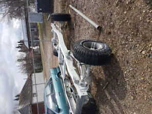 1976 ford f250 highboy rolling chassis