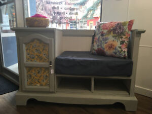 Unique one of a kind Gossip Bench