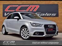 Audi A1 1.6 TDI SPORT 3DR 2012 + FSH + SAT NAV + BLUETOOTH + FREE ROAD TAX +