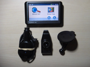Garmin GPS 265W screen 4.3;charger,support