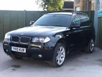 2010 BMW X3 2.0 20d M Sport xDrive 5dr