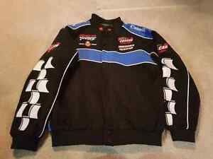Snap on racing jacket new without tags