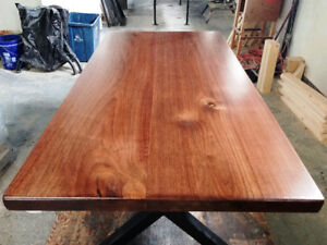 Walnut Dining Table & Bench