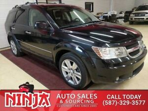 2010 Dodge Journey R/T AWD 7 Pass. Leather Sunroof DVD Booster S