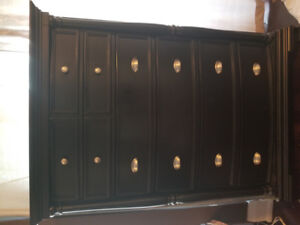 HOOKER FURNITURE ESTATE COLLECTION DRESSER AND TALL CHEST- EUC