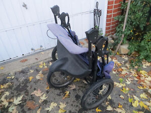 3 wheel expedition stroller for twins West Island Greater Montréal image 5