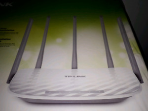 TP Link dual band highspeed/gaming ac 1350 router