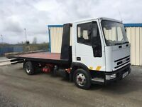 IVECO 7.5 TON TILT & SLIDE RECOVERY LORRY