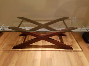 Glass Coffee and End Tables Set