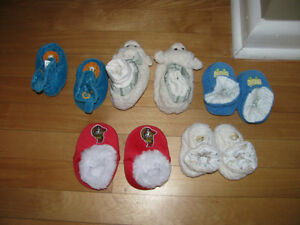 Baby slippers for sale!