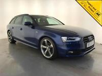 2014 AUDI A4 S LINE BLACK EDITION TDI DIESEL 1 OWNER SERVICE HISTORY FINANCE PX