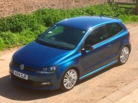 Volkswagen Polo 1.4 TSI ( 150ps ) ( ACT ) ( BMT ) 2015MY BlueGT (ACT) 3 door