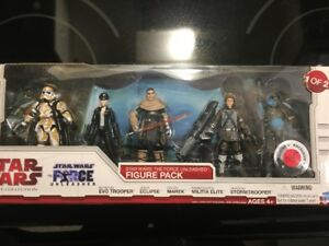 Star Wars Legacy Collection.    The Force Unleashed Figure Packs