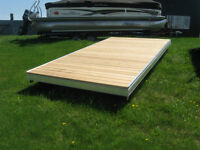 Fendock 16'x8. Floating Dock