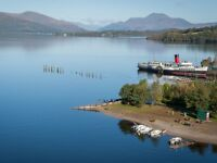 Relief Chef for 6 weeks work in Loch Lomond