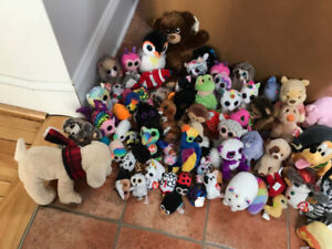 100 Beanie Boos and Stuffies - TY, Disney