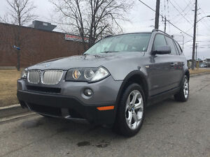 2009 BMW X3 AWD,PANORAMIC SUNROOF.ONE OWNER,ACCIDENT FREE,