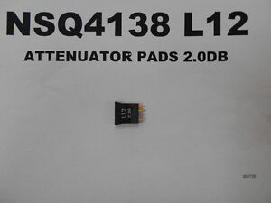 NSQ4138 L12 - ATTENUATOR PADS 2.0DB West Island Greater Montréal image 1
