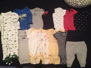Gently Used Newborn Boy Clothing Package (14 pieces)