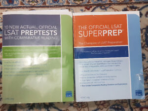 LSAT PREP BOOKS BY LSAC