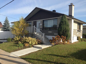 house in Laval for rent (a louer) - completely renovated !!!
