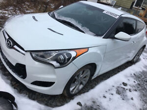 2016 HYUNDAI  VELOSTER ONLY 50.000 KMS  5500$@902-293-6969