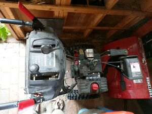 "Craftsman 28"" 9.0 HP two stage snowblower."