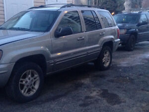 2002 Jeep Grand Cherokee V8 4.7 Limited Camionnette