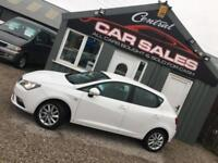 SEAT IBIZA 1.4 SE 5 DOOR LOW MILEAGE *CANDY WHITE* FINANCE PARTEX WELCOME