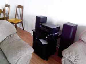 Sub woofer and receiver  London Ontario image 1