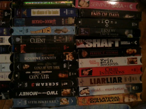 48 vhs movies for sale. Best offer takes all