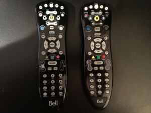 2 Bell Fibe TV Remotes (MInt Condition)