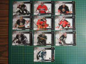 2002 Pacific Cards 2 Sided Goalie Cards VERY LIMITED #'d 281/500
