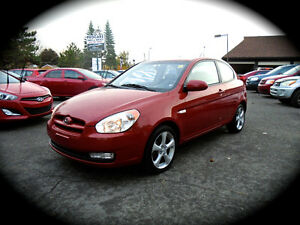 2009 Hyundai Accent GL SPORT, AUTOMATIC & MOONROOF, AC