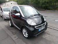 SMART FORTWO PASSION MHD AUTO COUPE 32,000 MILES FSH ZERO ROAD TAX PAN ROOF 63