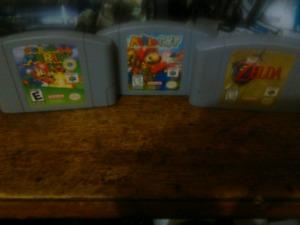 Jeux n64