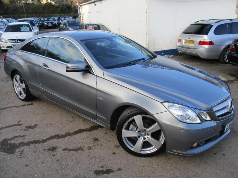 2012 mercedes e class e220 cdi blueefficiency se edition 125 coupe diesel in saltford bristol. Black Bedroom Furniture Sets. Home Design Ideas
