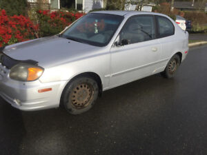 2003 Hyundai Accent Hatchback
