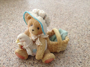 5 collectible Cherished Bears