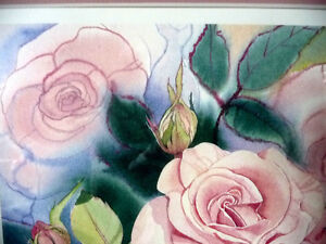 "L/Edition, Hand Signed, Mary-Dawn Roberts, ""Victorian Roses"" Stratford Kitchener Area image 9"