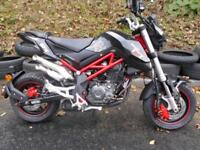 Benelli TNT 125 1995 + OTR Great Fun and Attitude