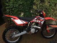 Gas gas 200 ec 2007 road registered fmf gnarly very nice