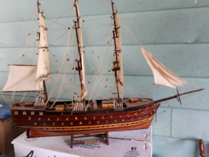 Napoleon Hand Made  in Vietnam Wooden Ship