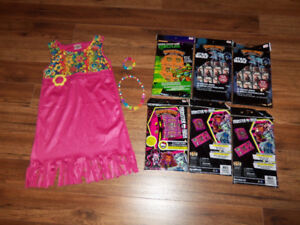 COSTUME HALLOWEEN FILLE 7-8 ANS * $5*  PLUS COLLANTS