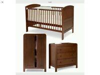 Mamas & Papas 3 piece nursery furniture set