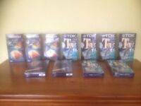 VHS Blank tapes sealed in packet as new