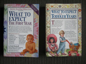 What to Expect in the First Year & What to Expect the Toddler ye